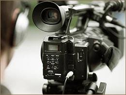 動画撮影のイメージ