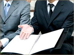 事務所内受付営業業務のイメージ